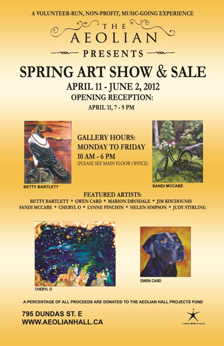 Spring Art Show POSTER12