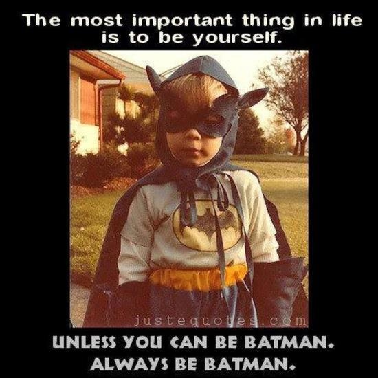 Always Be Batman