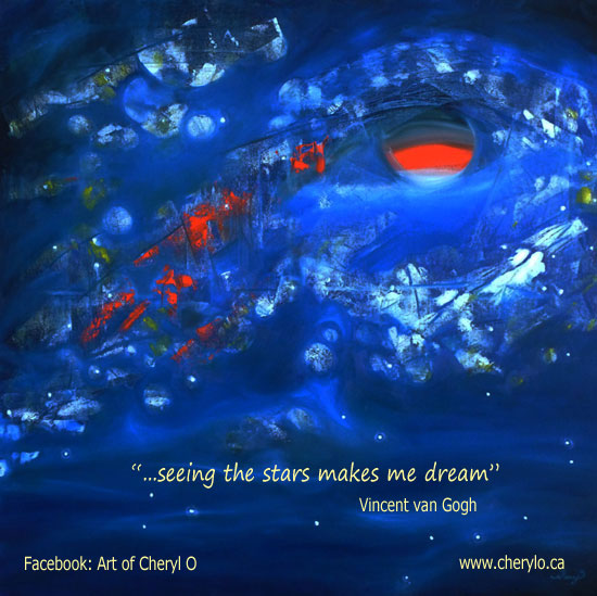 Painting of Galaxies