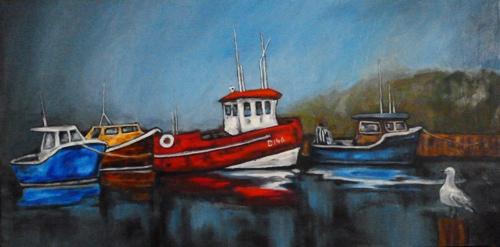 Painting 'Fleet Inspection'
