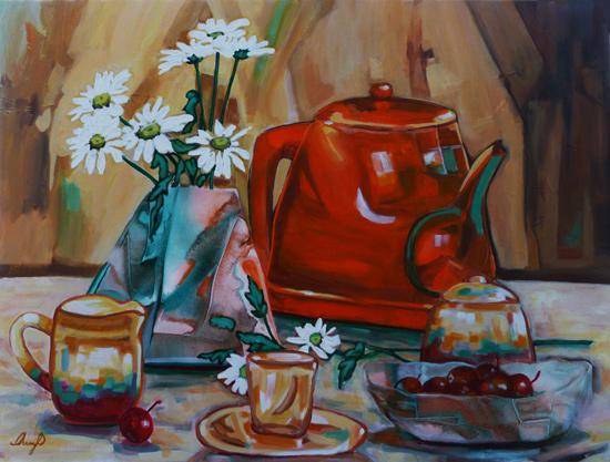 Tea and Cherries