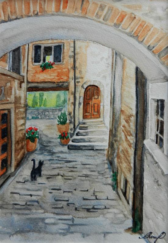Backstreets Italy