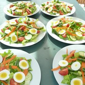 Wonderful meals