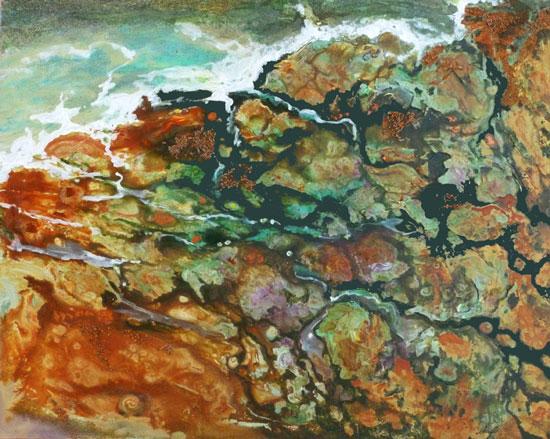Sea Shore Painting