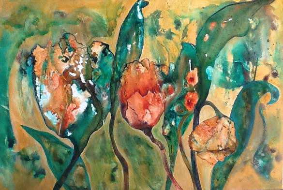 Tulips by Shelley Mercer