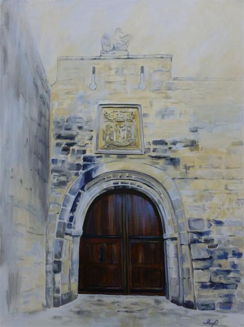 Cahir Castle by Cheryl O