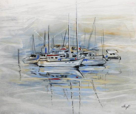 "Painting - ""Ship Shape"""