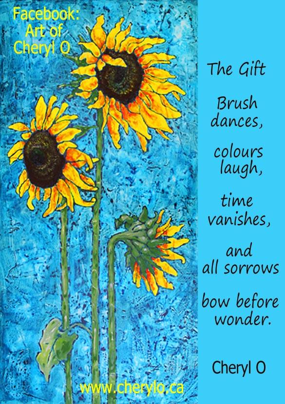 Sunflowers by Cheryl O